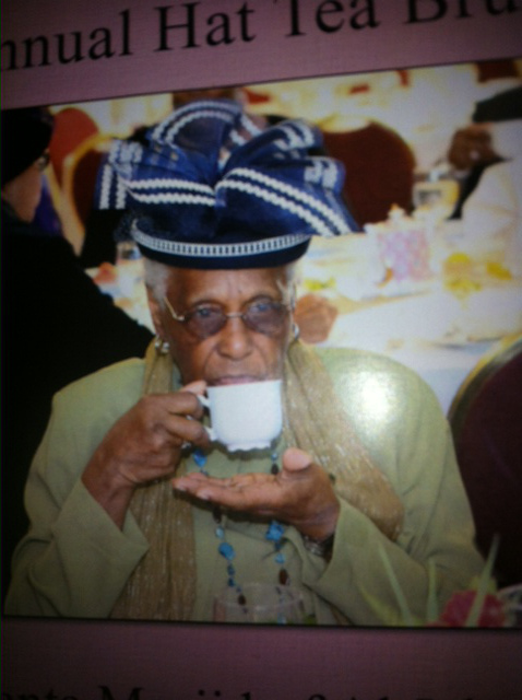 Elder Lady tea
